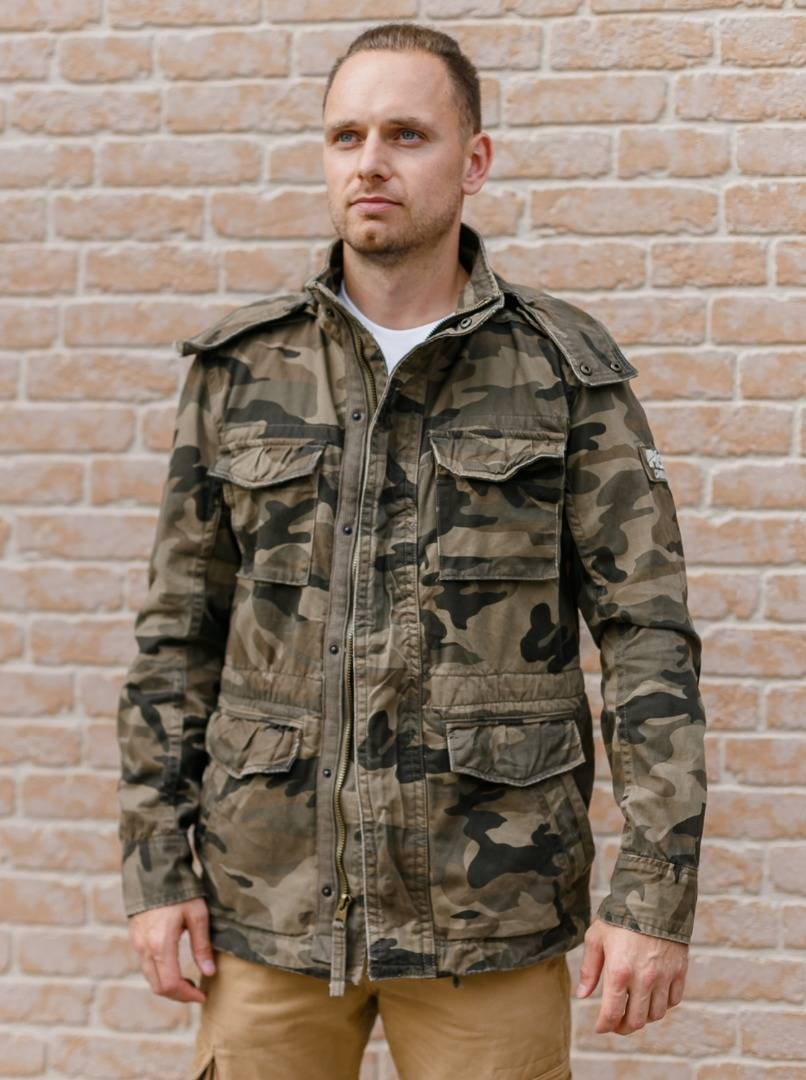 Куртка M65 Casual Victory Woodland Dark