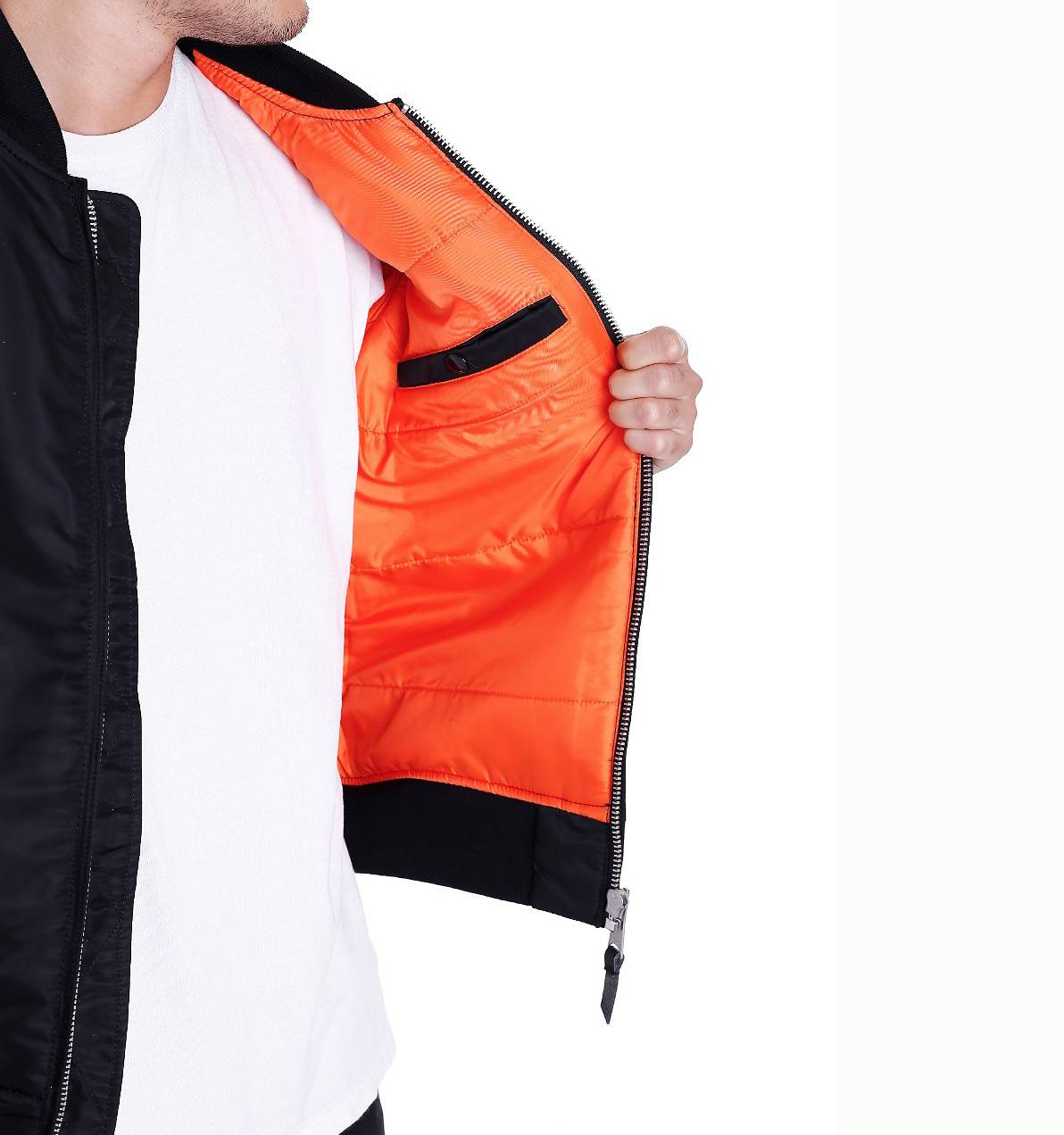 Куртка бомбер Collin jacket Black Vintage Industries