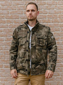 Куртка M65 Casual Commander Woodland Dark