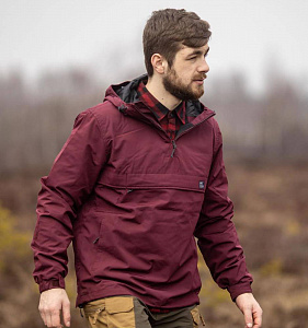 Анорак Shooter Vintage Industries Burgundy