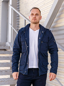 Куртка Cranford jacket Rip Stop Dark Blue