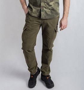 Брюки Abercrombie & Fitch 621 Olive
