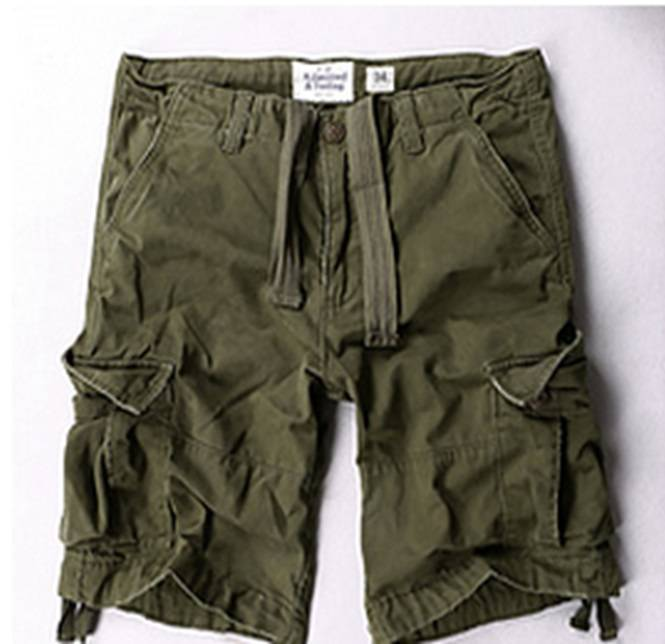 Шорты Abercrombie & Fitch Cargo Olive