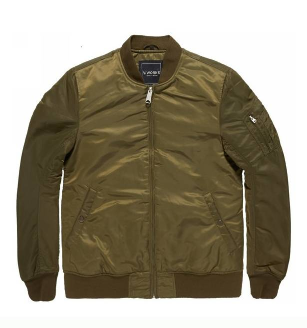 Куртка бомбер Collin jacket Olive Drab V/Works