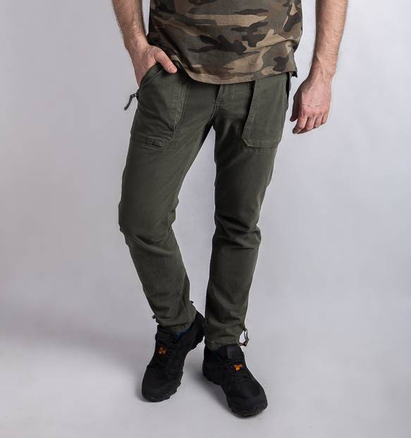 Брюки Abercrombie & Fitch Rustin Athletic Clim olive
