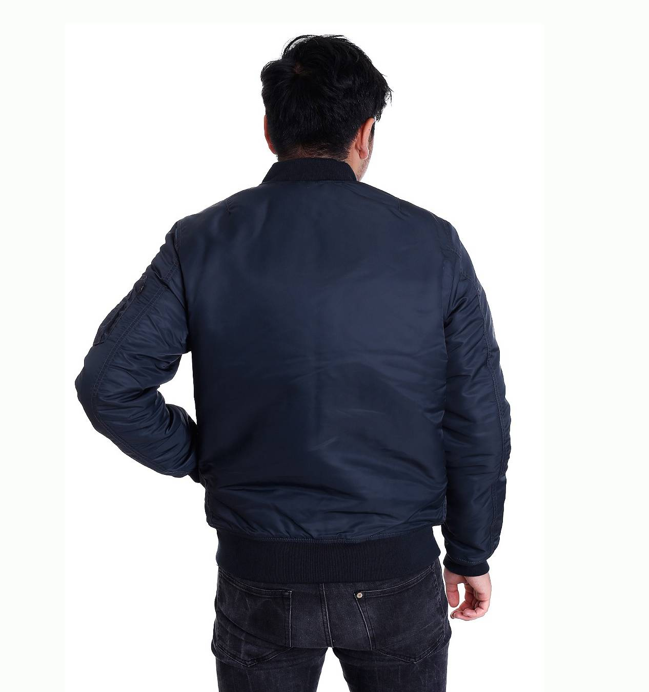 Куртка бомбер Collin jacket Navy V/Works