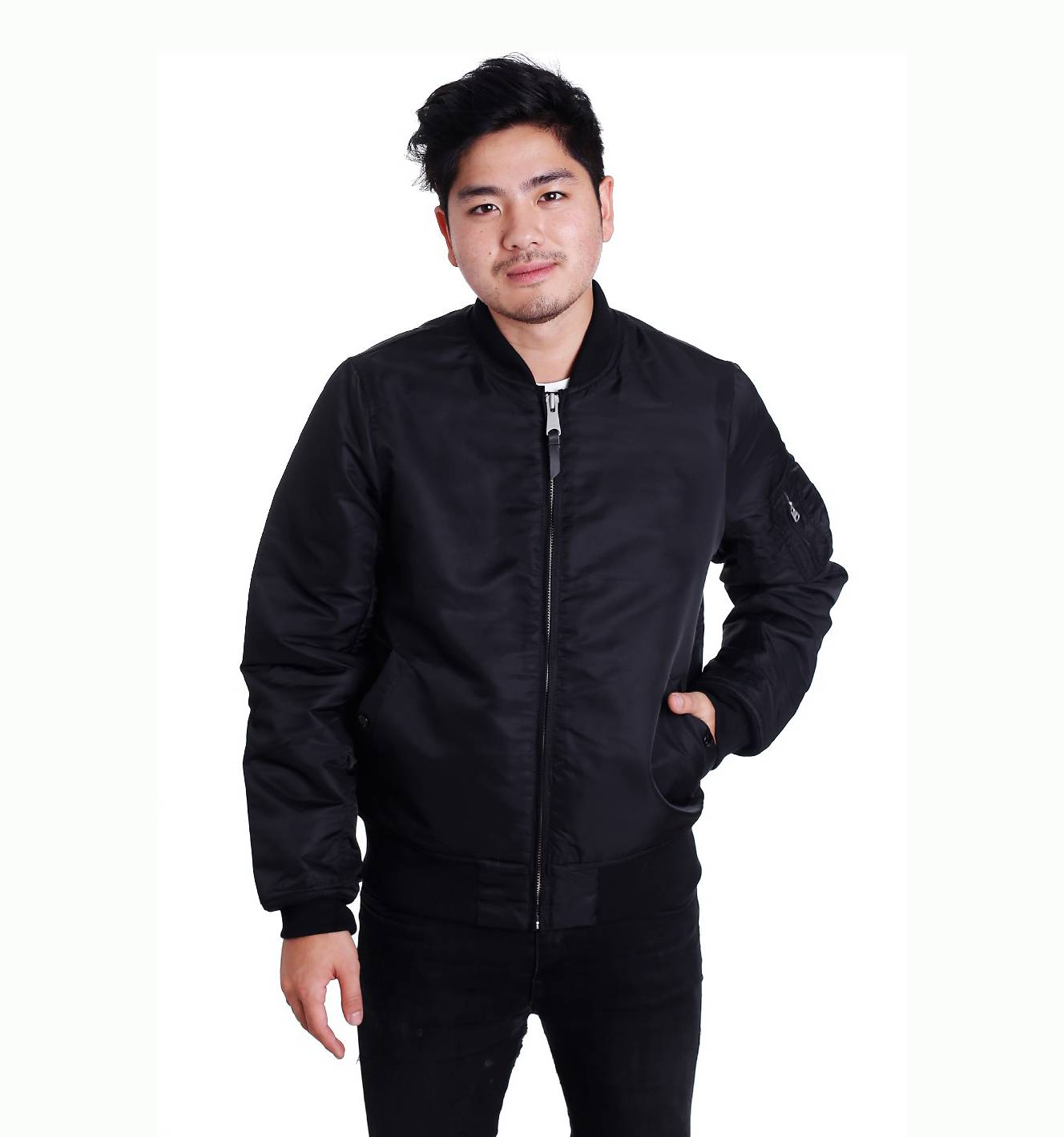 Куртка бомбер Collin jacket Black V/Works