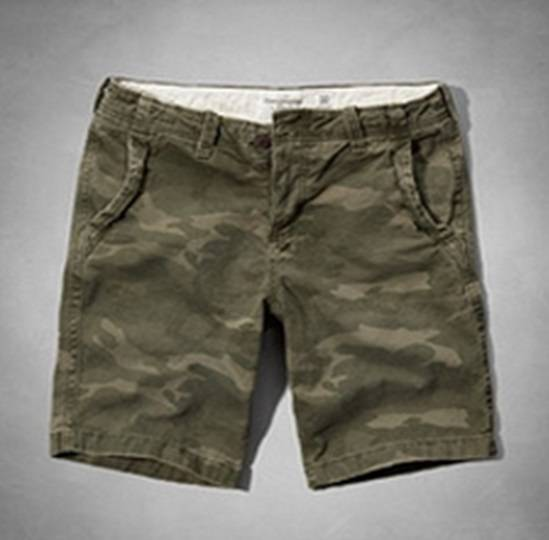 Шорты Abercrombie & Fitch Woodland Green 173-1