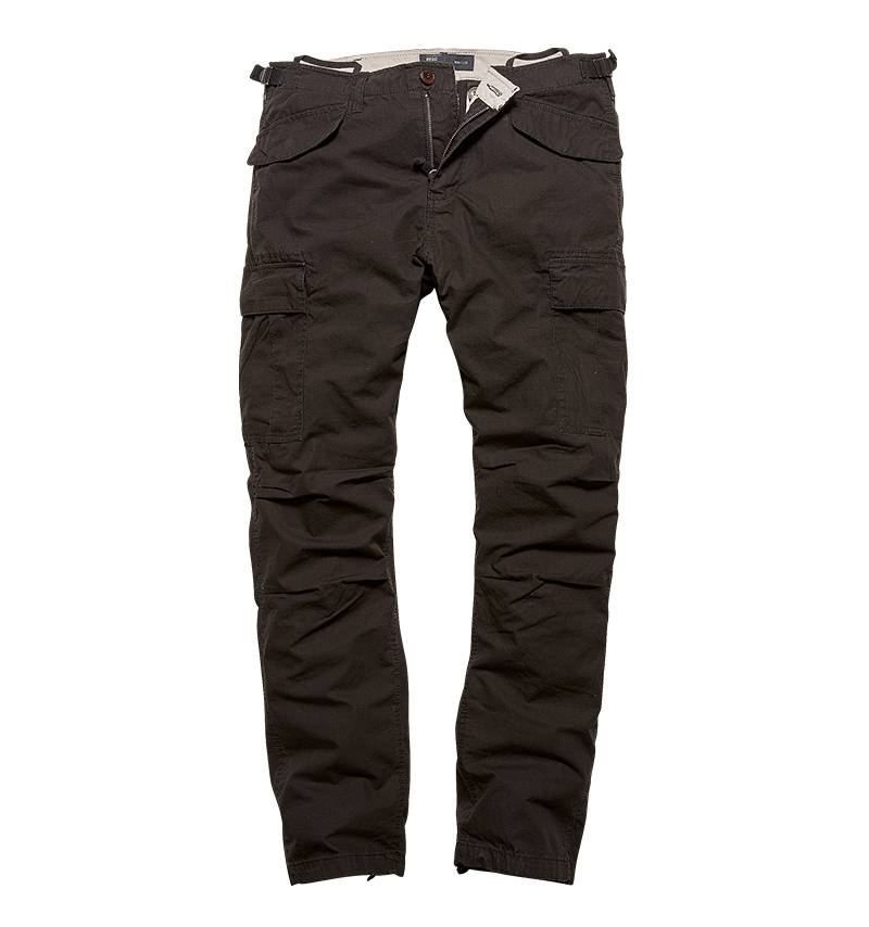 Брюки Miller Pants M65 Vintage Industries Black