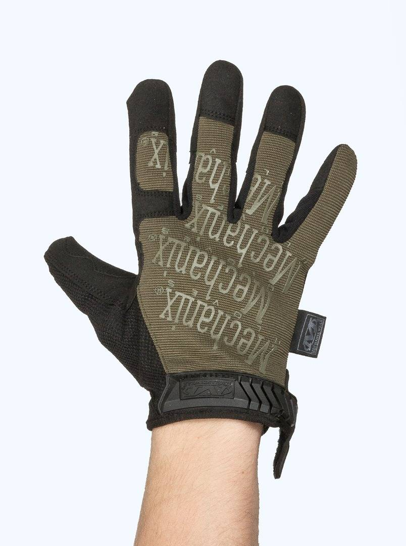 Перчатки Mechanix Original Olive Black