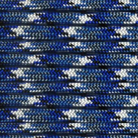 Paracord Navy Blue Camo