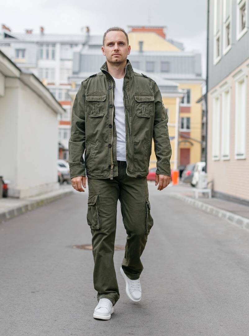 Куртка M65 Casual Commander Olive