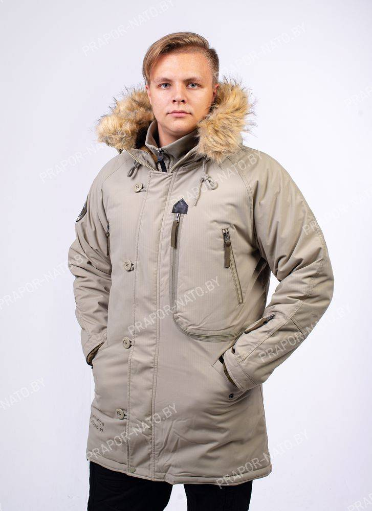 Куртка мужская Apolloget Expedition Silver Green/Olive