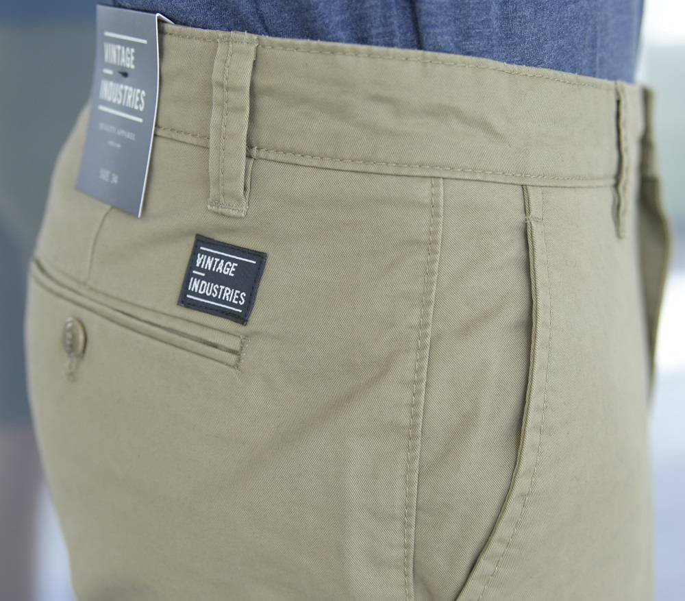 Шорты Chino Short Tonic Sand Vintage Industries