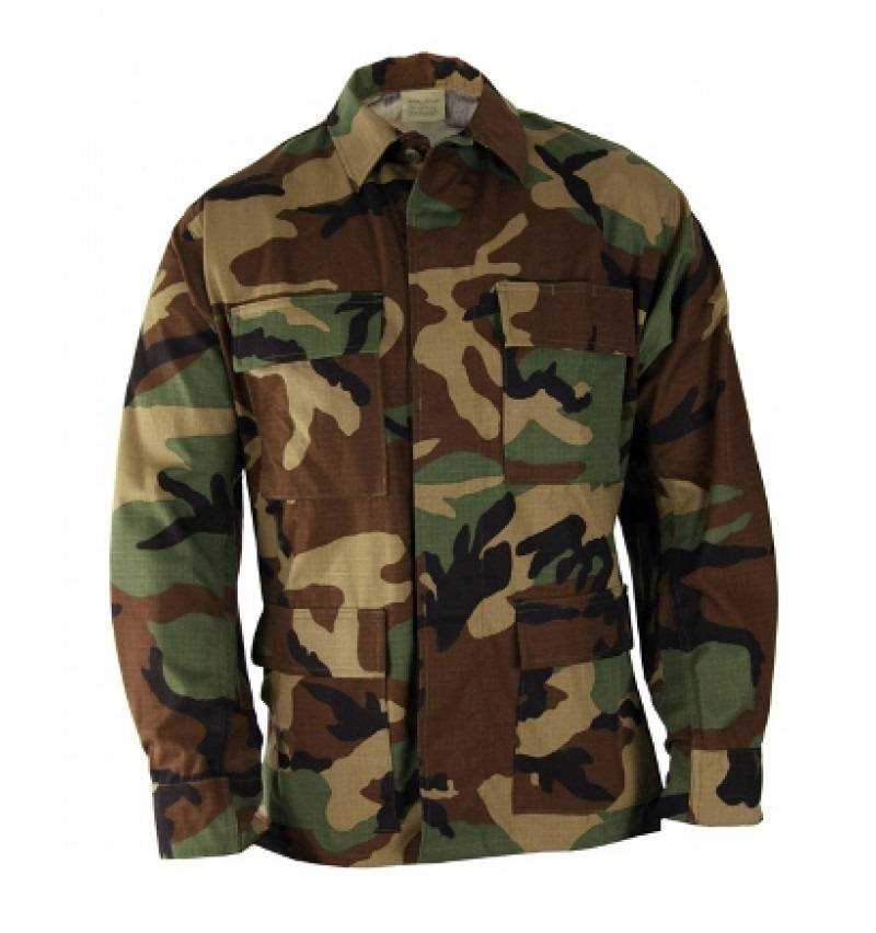 Китель BDU Woodland US Army оригинал б/у
