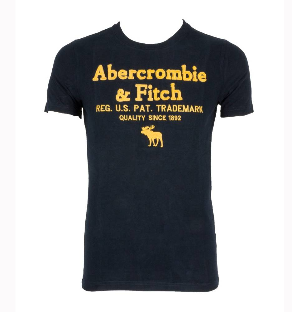 Футболка Abercrombie & Fitch 1877 Black