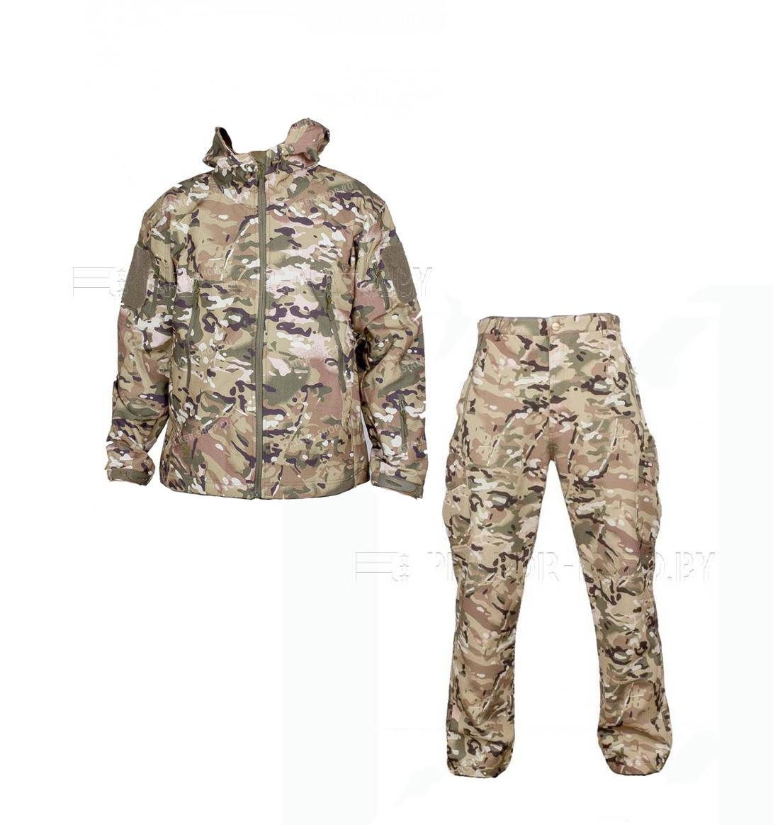 Костюм Shark Skin Soft Shell Multicam